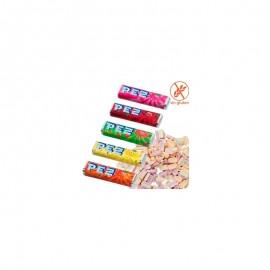 Distributeurs de Bonbons Pez avec Recharges 100 unts