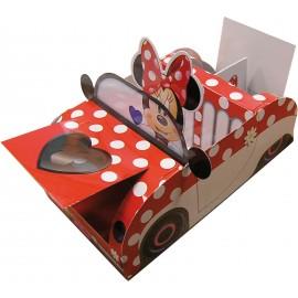 Boîte Voiture Minnie Mouse