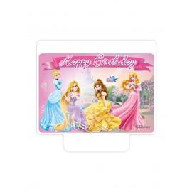 Bougie d'Anniversaire Princesse Disney
