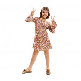 Déguisement de Hippie Psychédélique Enfant