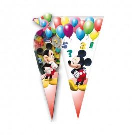 10 Sacs Mickey pour Friandises en forme de Cône