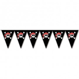 Banderoles Pirates Triangulaires 3 mts