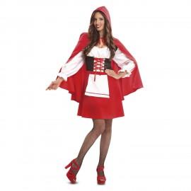 Déguisement du Petit Chaperon Rouge Chic pour Adulte