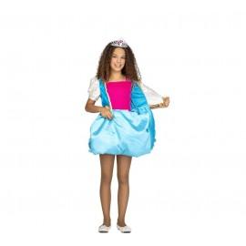 Déguisement de Princesse Réversible Rose et Bleu pour Enfant