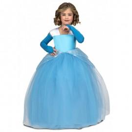 Déguisement de Princesse Tutu Bleu pour Enfant