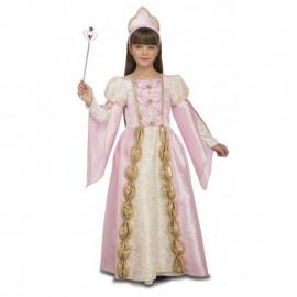 Déguisement de Reine Rose Clair pour Enfant