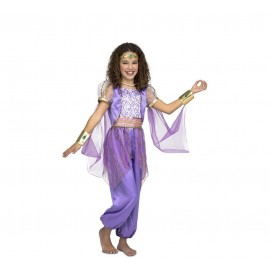Déguisement de Princesse Arabe Violet pour Enfant