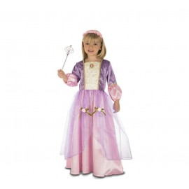 Déguisement de Princesse Violet et Rose pour Enfant