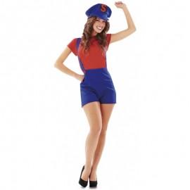 Déguisement Super Mario pour Femme