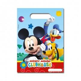 6 Sacs à Bonbons Mickey Mouse