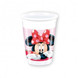 8 Gobelets Minnie Mouse Jardin 200 mL