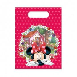 6 Sachets à Bonbons Minnie Mouse Jardin