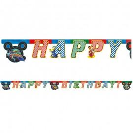 Guirlande Happy Birthday Mickey Pilote