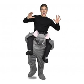 Déguisement d'Éléphant Adulte Ride pour Adulte