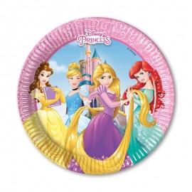 8 Assiettes Princesse Disney 20 cm
