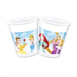 8 Gobelets Princesse Disney 200 mL