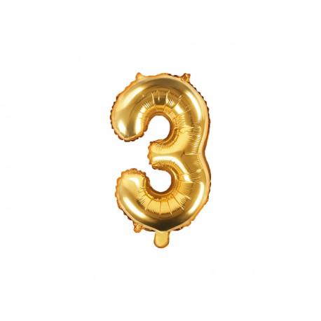 Ballon 3 Mylar 35 cm