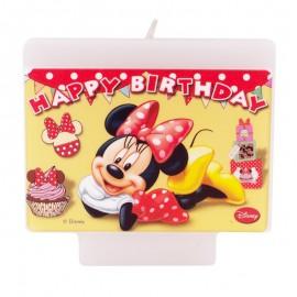 Bougie d'Anniversaire Disney Minnie Mouse