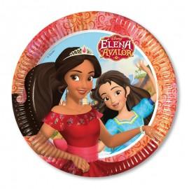 8 Assiettes Elena de Avalor 23 cm