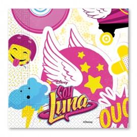 20 Serviettes Soy Luna 33 cm