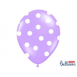 Ballons Pois Latex 30 cm