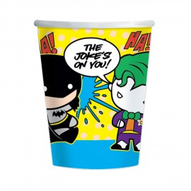 8 Gobelets Batman et Joker 250 ml