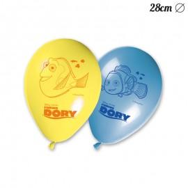 8 Ballons Le Monde de Dory 28 cm