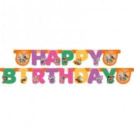 Guirlande 44 Chats Happy Birthday