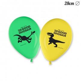 8 Ballons Le Voyage d'Arlo 28 cm