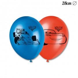 8 Ballons Cars 28 cm