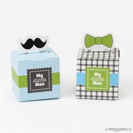 Boîte en Papier Little Man 5 x 8 x 5 cm