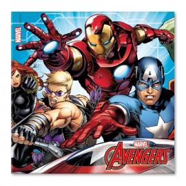 20 Serviettes Les Avengers 33 cm
