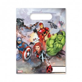 6 Sachets à Bonbons Les Avengers