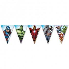 Fanion Les Avengers 2,3 m