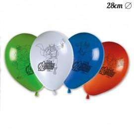 8 Ballons Les Avengers 28 cm