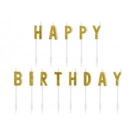 Bougie Scintillante Happy Birthday