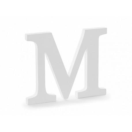 Lettre M en Bois