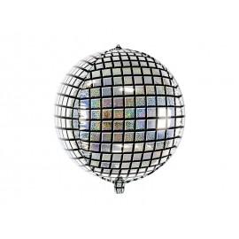 Ballon d'Aluminium en Forme de Boule à Facettes