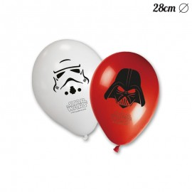 8 Ballons Star Wars 28cm