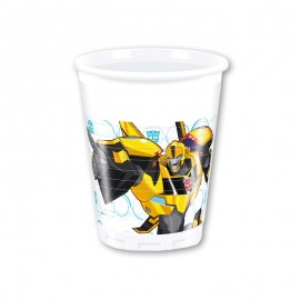 8 Gobelets Transformers 200 mL