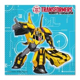 20 Serviettes Transformers 33 cm