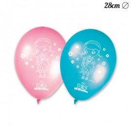 8 Ballons Docteur La Peluche 28 cm