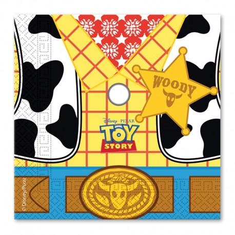 Serviettes Toy Story 33 cm - Fêtes - Décoration De Table - Pas Chères