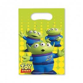 6 Sacs à Bonbons Toy Story
