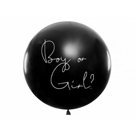 Ballon Gender Reveal Boy or Girl 1m