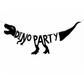 Bannière en Forme de Dinosaure