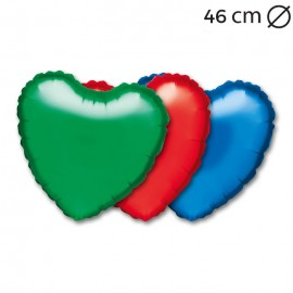 Ballon Coeur Mylar 45 cm