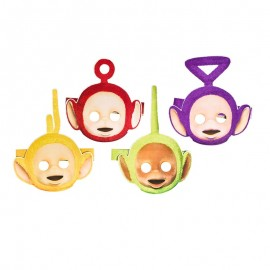 8 Masques Teletubbies