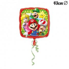 Ballon en Mylar Super Mario 43 cm
