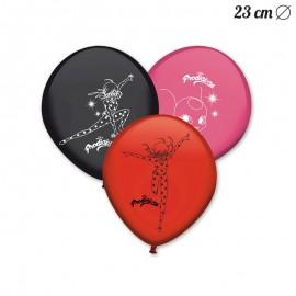 8 Ballons en Latex Lady Bug